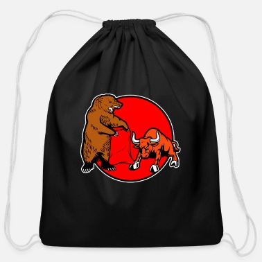Bullfighting Bullfighting Bear - Cotton Drawstring Bag