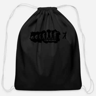Apocalypse Evolution of Apocalypse - Cotton Drawstring Bag