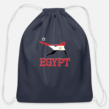 Egypt egypt soccer, #egypt - Cotton Drawstring Bag