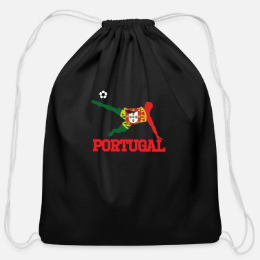 Portugal portugal soccer, #portugal - Cotton Drawstring Bag