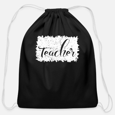 Musik teacher shirt gift mens womens - Cotton Drawstring Bag