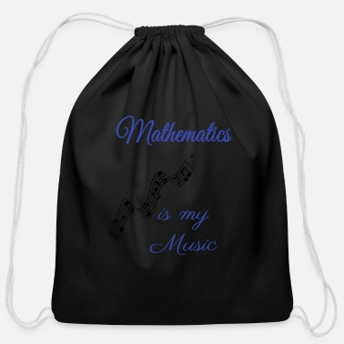 Mathematics mathematics - Cotton Drawstring Bag