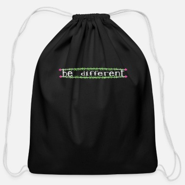 Different Be Different - Cotton Drawstring Bag