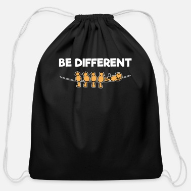 Be Different Be Different - Cotton Drawstring Bag