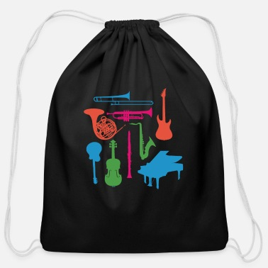 Musical Instruments Musical Instruments - Cotton Drawstring Bag