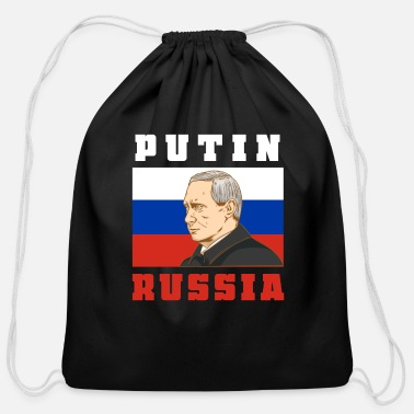 Putin Wladimir Putin - Cotton Drawstring Bag
