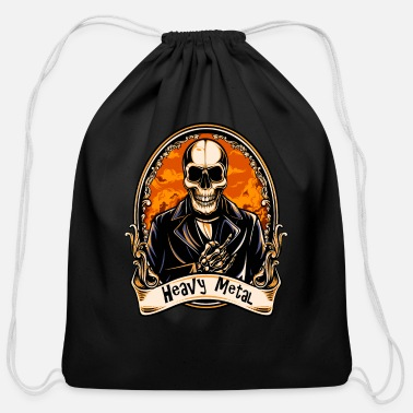 Heavy HEAVY METAL - Cotton Drawstring Bag