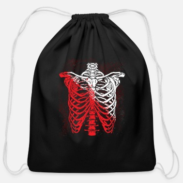 Skeleton Skeleton - Cotton Drawstring Bag