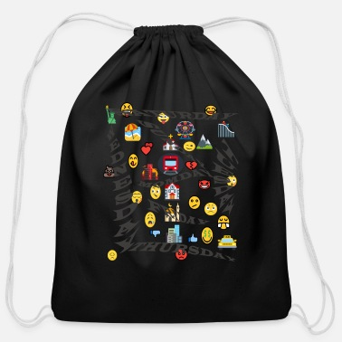 Week week - Cotton Drawstring Bag