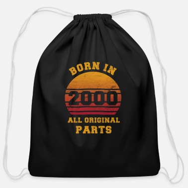 Legal Age Born in 2000 Millennium Children Gift legal age - Cotton Drawstring Bag