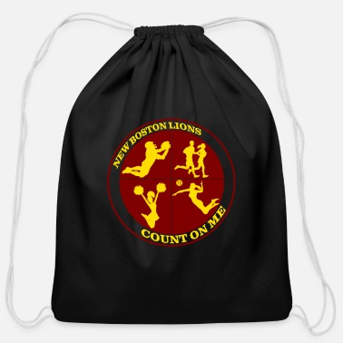 Count Royal Count on Me Gold - Cotton Drawstring Bag