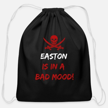 Easton Who is in a bad mood Easton - Cotton Drawstring Bag