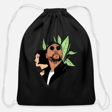 Matilda Leon The Proffessional - Cotton Drawstring Bag