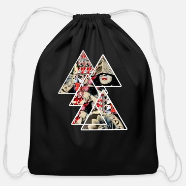 Street Art street art - Cotton Drawstring Bag