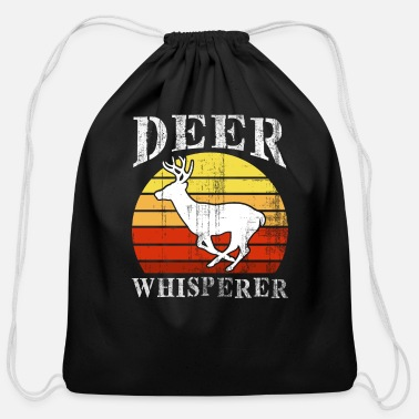 Wild Jaeger hobby hunting wild deer - Cotton Drawstring Bag