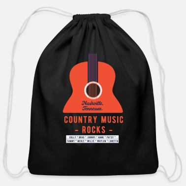 Country Country - Cotton Drawstring Bag