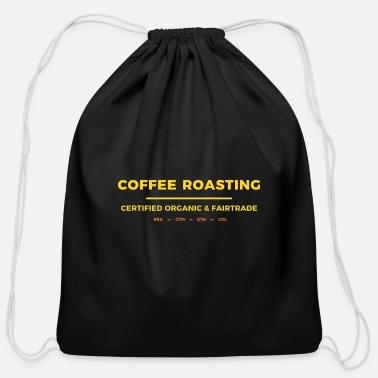 Roast coffee roasting - Cotton Drawstring Bag