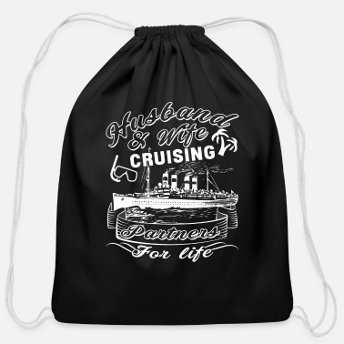 Partner Husband And Wife Are Cruising Partners T Shirt - Cotton Drawstring Bag