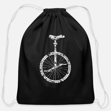 Distress distressed unicycle - Cotton Drawstring Bag