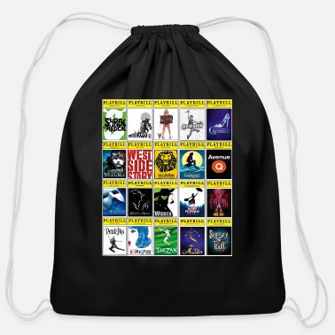 Broadway disney - Cotton Drawstring Bag