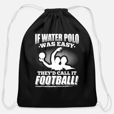Waterpolo Waterpolo Sports Water T Shirt Gift - Cotton Drawstring Bag
