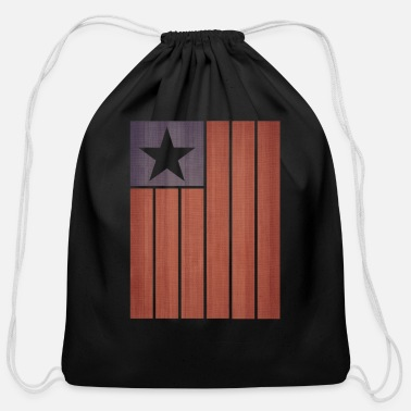 Stars And Stripes Stars And Stripes - Cotton Drawstring Bag