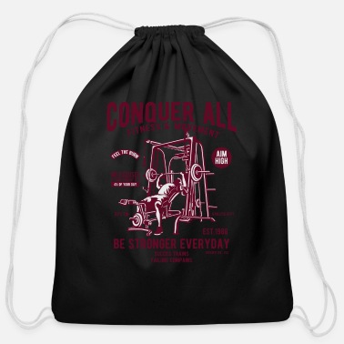 Movement Fitness and movement - Cotton Drawstring Bag