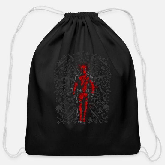 Super Bags & Backpacks - comic - Cotton Drawstring Bag black