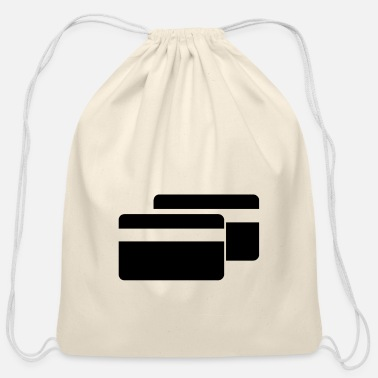 Cards Cards Credit Cards - Cotton Drawstring Bag