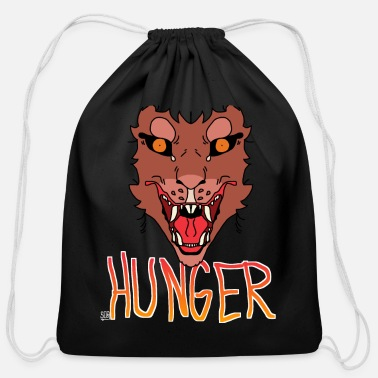 Hunger Hunger - Cotton Drawstring Bag