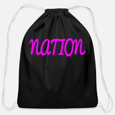 National NATION - Cotton Drawstring Bag