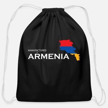 Armenia Manufactured In Armenia - Cotton Drawstring Bag