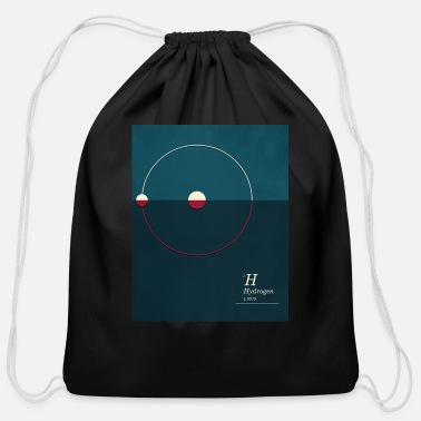 Hydrogen Hydrogen - Cotton Drawstring Bag