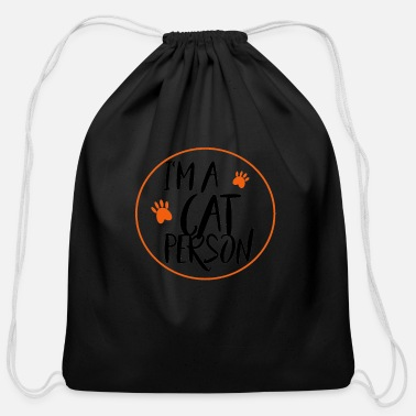 Catstagram Cat - Cotton Drawstring Bag