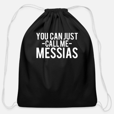 Messias messias - Cotton Drawstring Bag