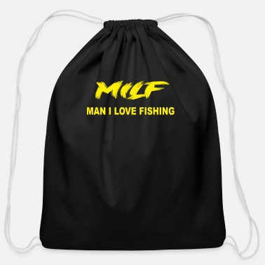 MILF - Cotton Drawstring Bag