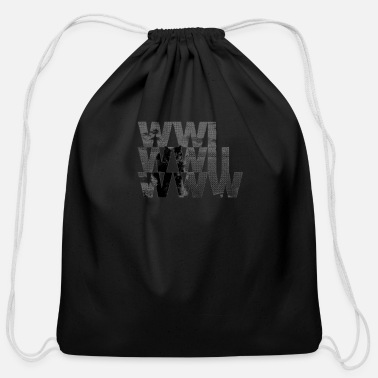 Www WWW - Cotton Drawstring Bag