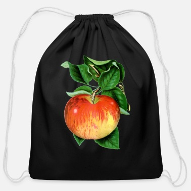 Wealthy Apple wealthy - Cotton Drawstring Bag