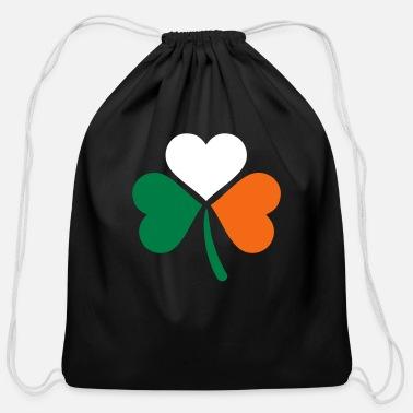 Drawstring Backpack Shamrock Gym Bag