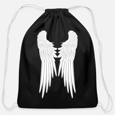 Archangel Angel Wings - Cotton Drawstring Bag