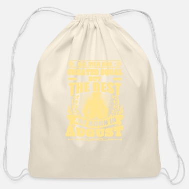 Born In born in august - Cotton Drawstring Bag