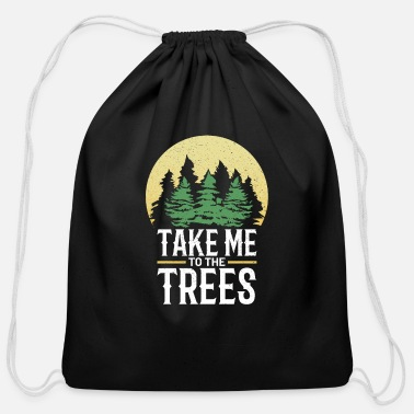 Forest Forest - Cotton Drawstring Bag