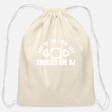 Deejay DJ - Cotton Drawstring Bag