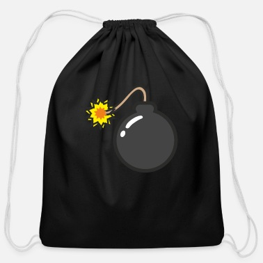 Bomb bomb - Cotton Drawstring Bag