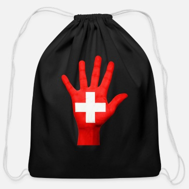 Switzerland switzerland - Cotton Drawstring Bag