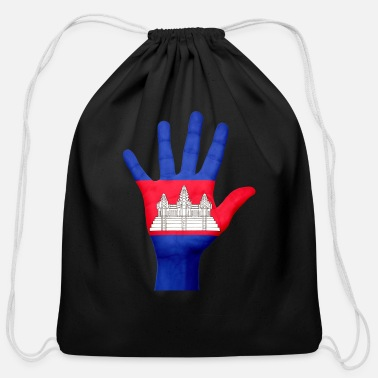 Cambodia cambodia - Cotton Drawstring Bag