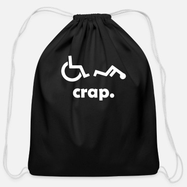Handicap Crap Handicap - Cotton Drawstring Bag