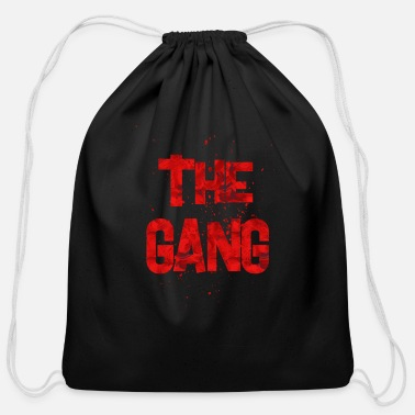 Gang the gang - Cotton Drawstring Bag