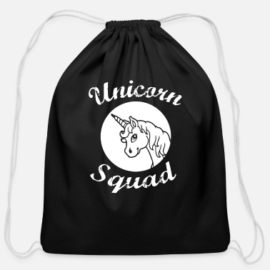 Unicorn Squad Team Bridesmaids - Cotton Drawstring Bag