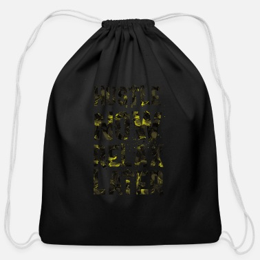 Hustle Hustle - Cotton Drawstring Bag